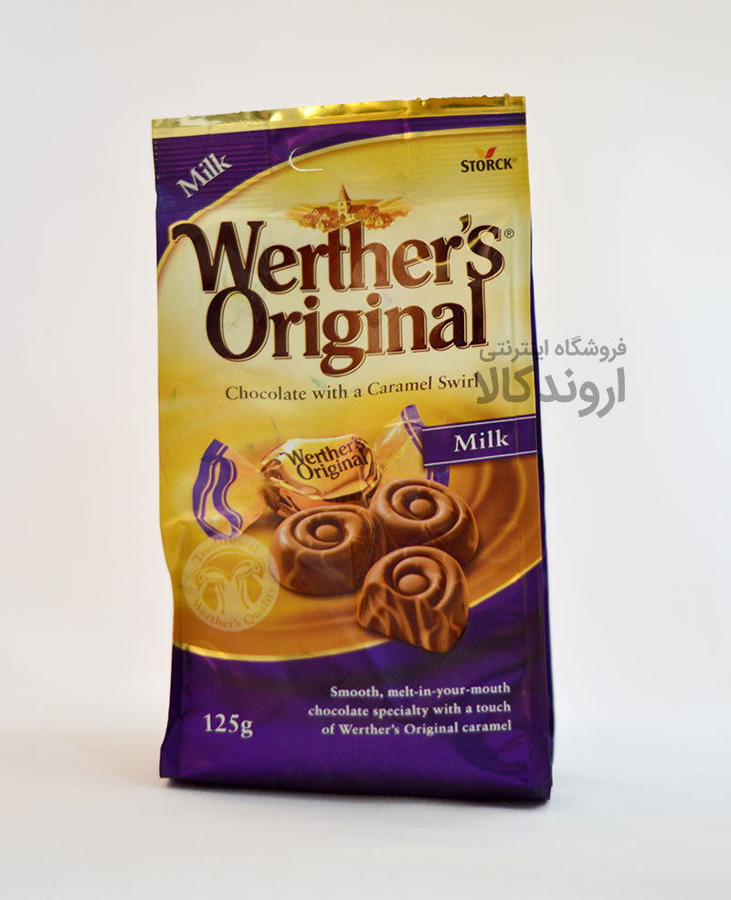 شکلات werther's original مدل Caramel Swirl