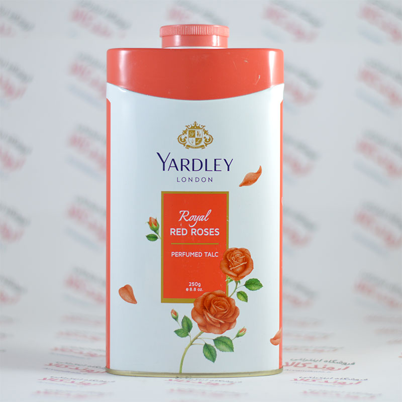 پودر خوشبو کننده بدن یاردلی YARDELLY مدل Royal RED ROSES